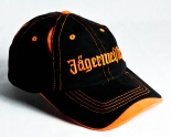 Jägermeister Likör, Baseball-Cap - Cap, Schirmmütze, Orange/Schwarz