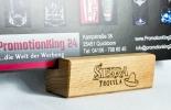 Sierra Tequila, Echtholz-Tischaufsteller, Speisekartenaufsteller
