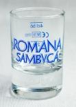 Romana Sambuca, Italienisches Sambuca Shotglas, Stamper, 2cl/4cl