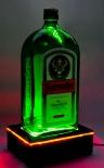 Jägermeister Likör, LED Leuchtreklame, kleine Flaschenleuchtentisch-Leuchte