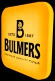 Bulmers Cider, XXL LED Leuchtreklame, Leuchtwerbung, gelbe Ausführung