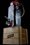 Aperol Spritz, 1,5l Tisch-Zapfanlage, Bowle Zapfglas, Ausgießer Table Barrel mit Hp