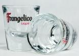Frangelico Likör, Glas, Shotglas, Stamper, Kurzer, Schnapsglas
