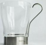 Jacobs Tassimo, WMF Latte Macchiato Glas, Edelstahlgriff