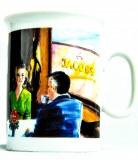 Jacobs Krönung Kaffeebecher Tasse Kaffeetasse Nostalgie Jubiläumsedition
