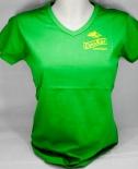 Canario Cachaca, T-Shirt, Girly, grün uni, V-Ausschnitt,CanaRio Gr. M