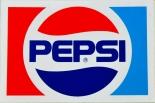 Pepsi Cola, Retro 80er Jahre Aufkleber Pepsi, Sticker