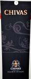 Chivas Regal Whisky, Vertikal Banner, schwarze Ausführung, sehr edel..
