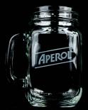 Aperol Spritz Likör, Cocktailglas, Longdrinkglas, Krug, Aperol Jar