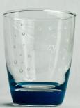 Forstetal 600 Wasser, Trinkglas, Wasserglas Fizzy blaue Ausführung