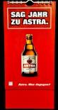 Astra Bier Brauerei, Prostkartenkalender Sag Jahr zu Astra, St.Pauli, Hamburg