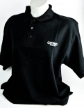 Giffard Likör, Herren Polo Shirt, schwarze Ausführung, Gr. XL, hohe Qualität