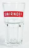 Smirnoff Vodka, Stapelglas, Longdrinkglas, Roter Bogen