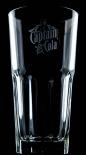 Captain Morgan, Rum, Longdrinkglas alte Form, Gr. Ausführung, 2cl 4cl