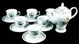 Hendricks Gin, 13 teiliges Tee-Service, 6 xTeetassen, 6 xUntertasse, 1 xTeekanne