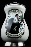 Hendricks Gin, Gurkenfass aus Porzellan in Edelstahlumfassung, sehr selten..