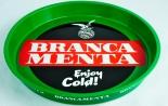 Fernet Branca, Menta Metall Serviertablett, Tablett, grün Enjoy Cold