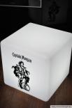 Captain Morgan DESIGN CUBE / Würfel LED, Sitzmöbel, Leuchtreklame