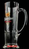 Köstritzer Bier, Habsburg Seidel, Bierkrug, Bierglas - 0,3l, weiße Aufschrift