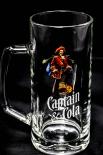 Captain Morgan Glas / Gläser, Krug Captain Cola bunt  Glas 0,3l - NEUWARE