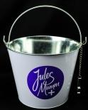 Jules Mumm, Eiswürfeleimer, Eiswürfelbehälter, Flaschenkühler, mit Kapselheber.