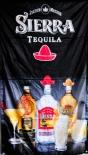 Sierra Tequila, Werbe Banner, Stoff Banner, schwarz Jalisco Mexico