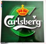 Carlsberg Bier, XL Aufkleber Carlsberg grün, Sticker