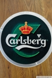 Carlsberg Aufkleber / Sticker / Folie 30cm Durchmesser