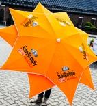 Schöfferhofer Bier, Sonnenschirm, Design 10 Ecken Sonnenschirm Stern