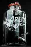 Aperol Spritz, 8,5l Tisch-Zapfanlage, Bowle Zapfglas, Ausgießer Table Barrel