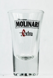 Molinari Extra, Sambuca Shotglas große Ausführung, 2cl/4cl