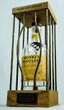 Monkey Shoulder Whisky, LED Leuchtreklame, Flaschenkäfig für 0,7l Flasche