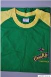 Canario Cachaca T-Shirt Gelb/grün in L hochwertig- mit Logo