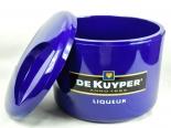 De Kuyper Genever, 10l Eiswürfelkühler, Eisbox, Eiswürfelbehälter, 3teilig, lila