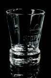 Sierra Tequila, Design Relief Shot Glas, Stamper, 2cl/4cl, Fußembleme