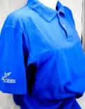 Gauloises Tabak, Polo-Shirt, Kellnershirt, blau, Gr. XL