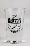 Helbing Kümmel Glas / Gläser, Stamper, Shotglas, 2cl Eichstrich Anker