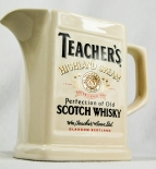 Teachers Whisky, Pitcher, Krug, Krüge, Porzellan, Highland Cream beige