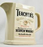 Teachers Whisky, Pitcher, Krug, Krüge, Porzellan, Highland Cream beige