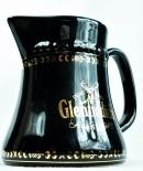 Glenfiddich Whisky Pitcher, Wasser Karaffe, schwarz, große Ausführung