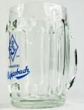 Aldersbach Bier, Bierseidel, Krug, Bierglas 0,5l bauchig, Reliefabsetzung