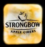 Strongbow Cider, XXL LED Leuchtreklame, Leuchtwerbung, weiße Ausführung