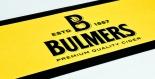 Bulmers Cider, Barmatte, Tresenmatte, gummiert Bulmers gelb