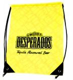 Desperados Bier, Turnbeutel, Rucksack, Tragetasche,Stoffbeutel Desperados gelb