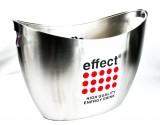 Effect Energy, Edelstahl, Akku LED, Leucht - Flaschenkühler, Eiswürfelbehälter