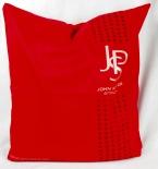 JPS, John Player Special, Tabak, Kissenbezug, rote Ausführung. Sehr edel...