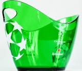 Heineken Bier, Acryl Eiswürfelkühler, Eisbox, Eiswürfelbehälter, Champions League