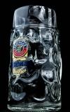 Erdinger Weissbier Maßkrug, Bierkrug, Krug, Bierglas, Glas, Bier Seidel, 1 Liter
