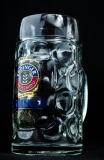 Erdinger Weissbier, Bierkrug, Krug, Bierglas, Glas, Bier Seidel, 0,5 Liter