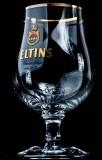 Veltins Bier Schwenker, Glas, Gläser, Bierglas, Biergläser Kugel Goldrand 0,3l